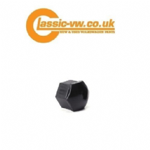 Black Wheel Nut Cover 17mm